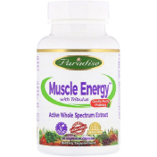 Paradise Herbs Muscle Energy with Tribulus 60 Vegetarian Capsules