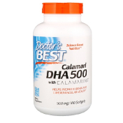 Doctor's Best Calamari DHA 500 with Calamarine 500 mg 180 Softgels