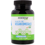 Zenwise Health Vegan Omega-3 with Life'sOmega 120 softgels