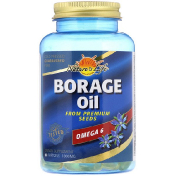 Nature's Life Borage Oil 1000 mg 60 Softgels
