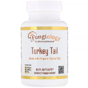 California Gold Nutrition Fungiology Full-Spectrum Turkey Tail 90 Planetcaps