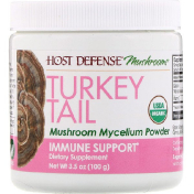 Fungi Perfecti Turkey Tail Mushroom Mycelium Powder Immune Support 3.5 oz (100 g)