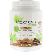 VeganSmart All-In-One Nutritional Shake Chocolate 24.3 oz (690 g)