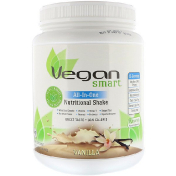 VeganSmart All-In-One Nutritional Shake Vanilla 22.8 oz (645 g)