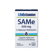 Life Extension SAMe 400 mg 30 Enteric Coated Tablets