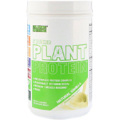 EVLution Nutrition Stacked Plant Protein натуральная ваниль 1 5 фунта (680 г)