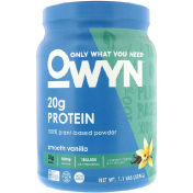 OWYN Protein 100% Plant-Based Powder Smooth Vanilla 1.1 lbs (504 g)