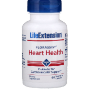 Life Extension Florassist Heart Health 60 Vegetarian Capsules
