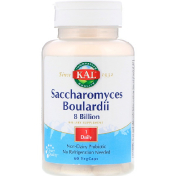 KAL Saccharomyces Boulardii 8 Billion 60 VegCaps