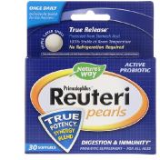 Nature's Way Primadophilus Reuteri Pearls 30 Softgels