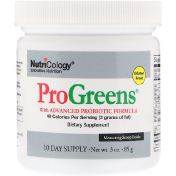 Nutricology ProGreens with Advanced Probiotic Formula 10 Day Supply 3 oz (85 g)