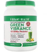 Vibrant Health Green Vibrance +25 Billion Probiotics Version 18.0 32.21 oz (913 g)
