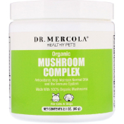 Dr. Mercola Healthy Pets Organic Mushroom Complex For Cats & Dogs 2.1 oz (60 g)