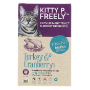 Fidobiotics Kitty P. Freely Turkey & Cranberry Cats Urinary Tract Support Probiotic 1 Billion CFUS 0.5 oz (14.5 g)