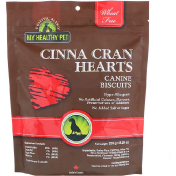 Holistic Blend My Healthy Pet Cinna Cran Hearts Canine Biscuits 8.29 oz (235 g)