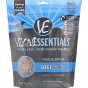 Vital Essentials Freeze-Dried Entree For Dogs Beef Mini Nibs 1 lb. (453 g)