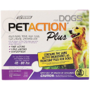 PetAction Plus For Dogs 45-88 lbs 3 Doses - 0.091 fl oz (2.68 ml) Each