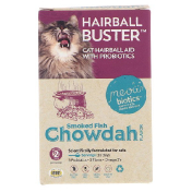 Fidobiotics Hairball Buster Smoked Fish Chowdah Cat Hairball Aid With Probiotics 2 Billion CFUS 0.5 oz (15 g)
