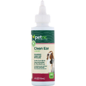 petnc NATURAL CARE Clean Ear Liquid All Pet 4 fl oz (118 ml)