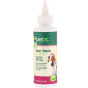 petnc NATURAL CARE Tear Stain Remover All Pet 4 fl oz (118 ml)