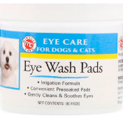 Miracle Care Eye Care Eye Wash Pads For Dogs & Cats 90 Pads