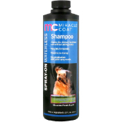 Miracle Care Miracle Coat Spray-On Waterless Shampoo For Dogs Meadow Fresh Scent 12 fl oz (355 ml)