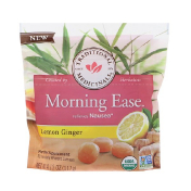 Traditional Medicinals Organic Morning Ease Lemon Ginger 30 Individually Wrapped Lozenges 4.13 oz (117 g)