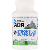 Advanced Orthomolecular Research AOR Strontium Support II 120 веганских капсул