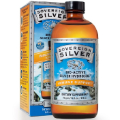 Sovereign Silver Bio-Active Silver Hydrosol 10 PPM 16 fl oz (473 ml)