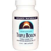 Source Naturals Тройной бор 3 мг 200 капсул