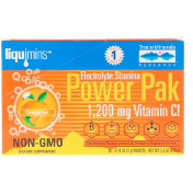 Trace Minerals Research Electrolyte Stamina Power Pak 1200 mg Tangerine 30 Packets 0.18 oz (5.2 g) Each