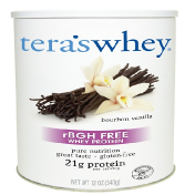 Tera's Whey Grass Fed Simply Pure Whey Protein Bourbon Vanilla 12 oz (340 g)