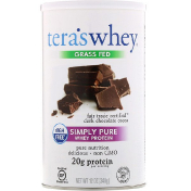 Tera's Whey Grass Fed Simply Pure Whey Protein Fair Trade Dark Chocolate Cocoa 12 oz (340 g)