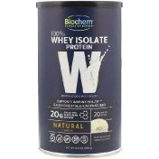 Biochem 100% Whey Isolate Protein Natural Flavor 12.3 oz (350 g)