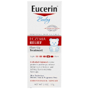 Eucerin Eczema Relief for Baby Instant Therapy Creme 2.0 oz
