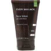 Every Man Jack Face Lotion Sensitive Skin Fragrance Free 4.2 fl oz (125 ml)