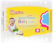 Maxim Hygiene Products Organic Cotton Baby Swabs 50 Swabs