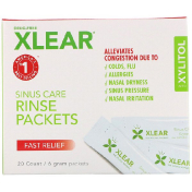 Xlear Sinus Care Rinse Packets Fast Relief 20 Count 6 g Each