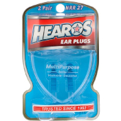 Hearos Ear Plugs Multi-Purpose Series 2 Pair + Free Case