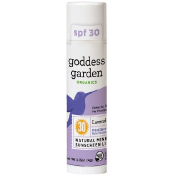 Goddess Garden Organics Natural Mineral Sunscreen Lip Balm SPF 30 Lavender Mint 0.15 oz (4 g)