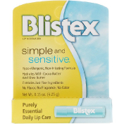 Blistex Simple and Sensitive Lip Moisturizer 0.15 oz (4.25 g)