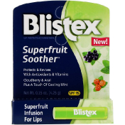 Blistex Superfruit Soother Lip Protectant/Sunscreen SPF 15 0.15 oz (4.25 g)