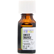 Aura Cacia Pure Essential Oil Sweet Orange .5 fl oz (15 ml)