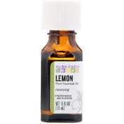 Aura Cacia Pure Essential Oil Lemon .5 fl oz (15 ml)