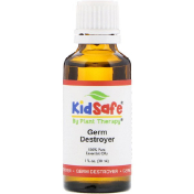 Plant Therapy KidSafe 100% Pure Essential Oil Germ Destroyer 1 fl oz (30 ml)