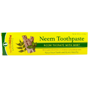 Organix South TheraNeem Naturals Neem Therapé with Mint Neem Toothpaste 4.23 oz (120 g)