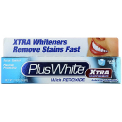 Plus White Xtra Whitening with Peroxide Clean Mint Flavor 2.0 oz (56.6 g)