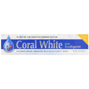 CORAL LLC Coral White Toothpaste Mint 6 oz (170 g)