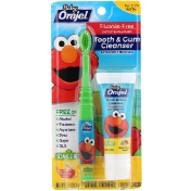 Orajel Elmo Tooth & Gum Cleanser Fluoride-Free 3-24 Months Bright Banana Apple 1 oz (28.3 g)