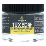 Gold Mountain Beauty Tuxedo All Natural and Organic Teeth Whitener + Detoxifier Baking Soda + Lemon Essential Oil 32 g